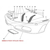 80866310FRONT SPOILER PATTERN