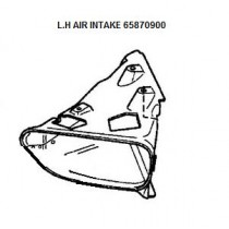 [65870900] L.H AIR INTAKE (Pattern)