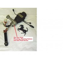 [106611] SUPPORT STEERING COLUMN AND ANTI - THEFT DEVICE (Used)
