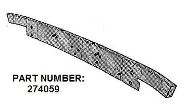 274059P REAR BEAM (PATTERN)