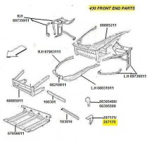 207176 (16) R.H BRACKET FOR BUMPER FIXING (Pattern)