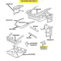 66394911 L.H. BRAKET FOR FRONT BUMPER FIXING (PATTERN)