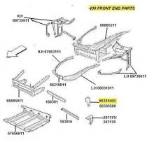 [66395400] L.H Bracket (Pattern)