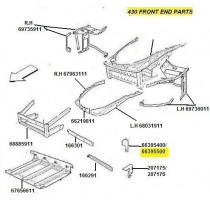 [66395500] R.H  BRACKET (Pattern)