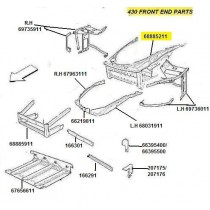 68885211 COMPLETE FRONT FRAME (PATTERN)