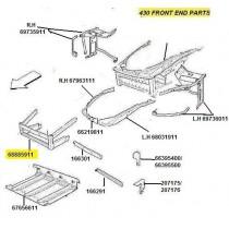 68885911 COMPLETE FRONT FRAME (PATTERN)