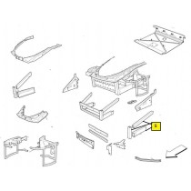 [65940400] COMPLETE L.H. FRONT LATERAL FRAME -PATTERN (Pattern)