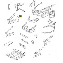 [68885700] COMPLETE R.H FRONT LATERAL FRAME (Pattern)