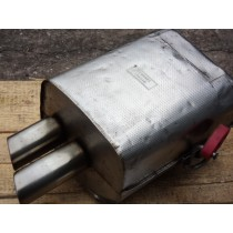 [156348] L.H. REAR SILENCER (Used)