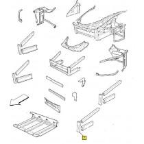 [206242] 7) L.H FRONT BUMPER PILLAR (Pattern)