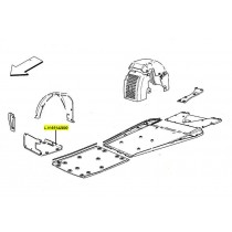 [65142800] A) L.H. LOWER GUARD FOR UNDERBODY  (Pattern)