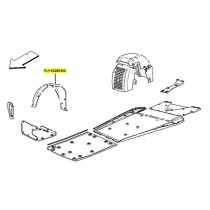 [65260500] D) R.H. FRONT WHEELHOUSE GRAVEL GUARD (Pattern)