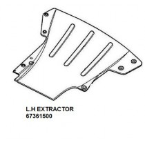 67361500 L.H. EXTRACTOR (PATTERN)