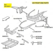 [69735911] R.H FRONT SIDE FRAME (Pattern)