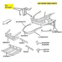 [69735911] R.H FRONT SIDE FRAME (Pattern)