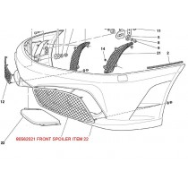 80562010 FRONT SPOILER PATTERN
